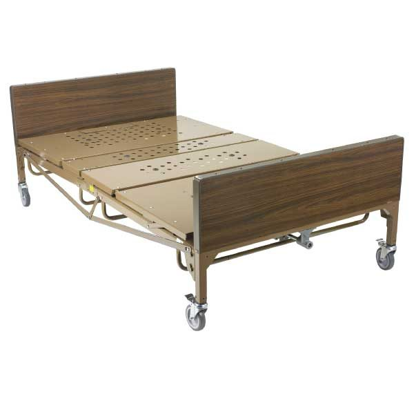 """Drive Medical Hospital Bed - Full-Electric Bariatric Bed, 48"""""""
