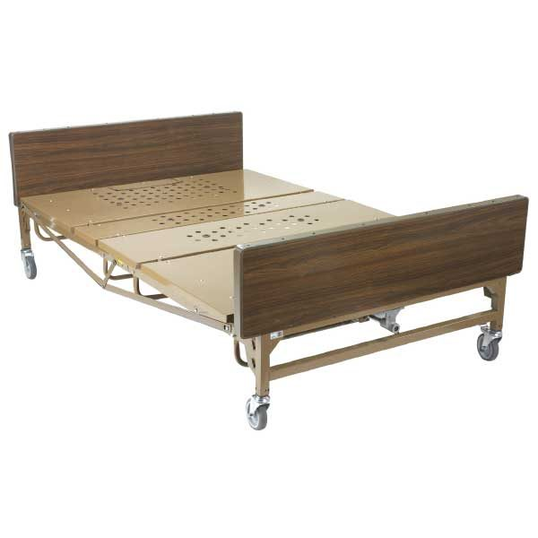 """Drive Medical Hospital Bed - Full-Electric Bariatric Bed, 54"""""""