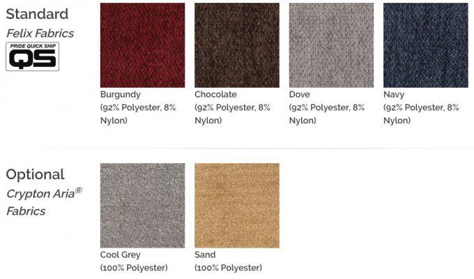 NM-475-fabric options