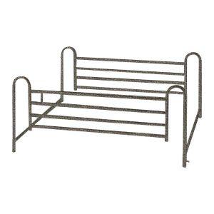 Semi-Electric Bed (Single Crank)