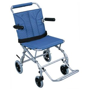 Super Light Folding Wheelchair with Carry Bag