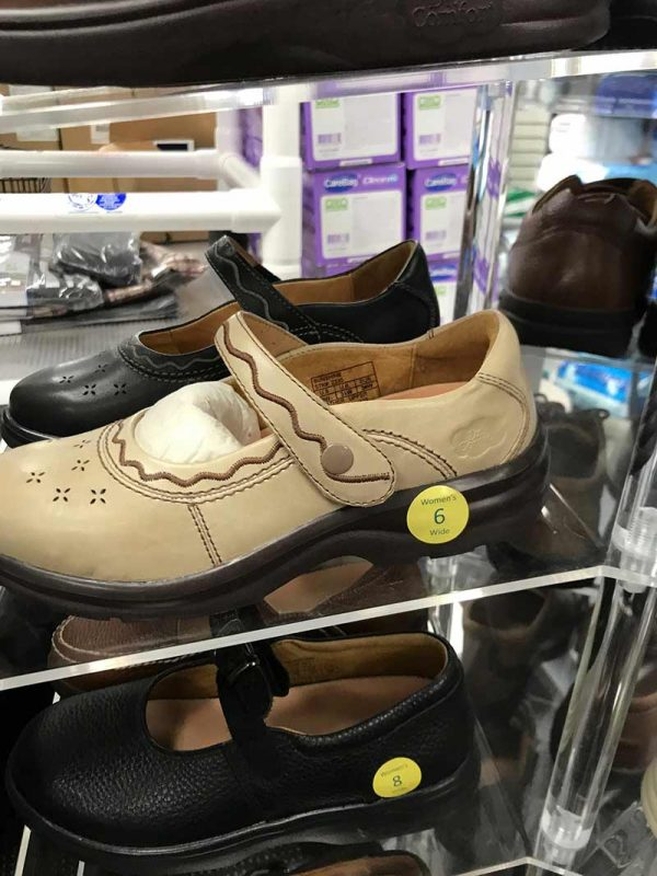 Lewin Medical Supply has a full selection of diabetic shoes.