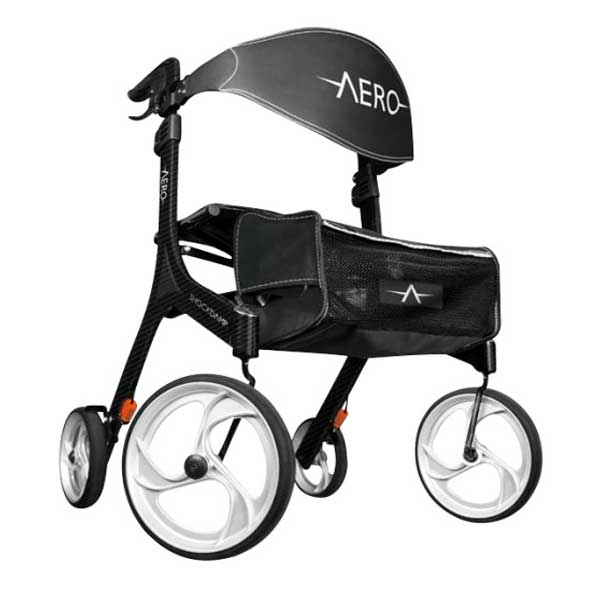 Photo of a 4 wheel Rollator